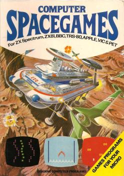 Computer Space Games Book - Usborne - 1982