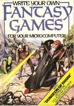 Write Your Own Fantasy Games For Your Microcomputer Book - Usborne - 1984