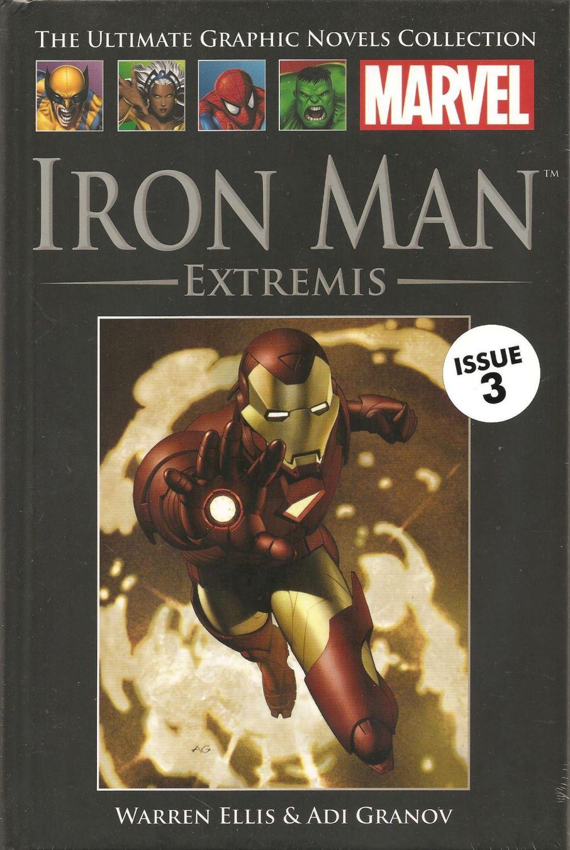 - Iron Man : Extremis Graphic Novel - NEW