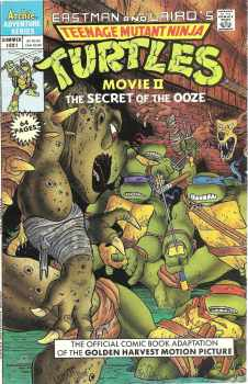 Teenage Mutant Ninja Turtles II : The Secret Of The Ooze - Movie Adaptation Comic - 1991 - RARE