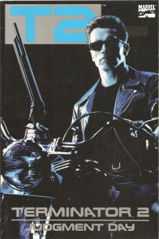 Terminator 2 : Judgement Day - Movie Adaptation - Comic Graphic Novel - TPB - 1991