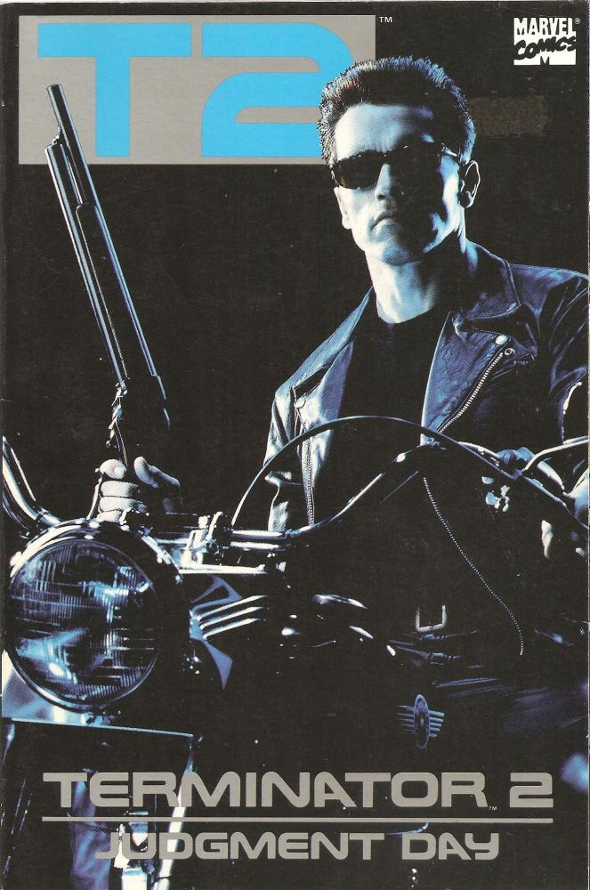 - Terminator 2 : Judgement Day - Movie Adaptation - Comic Graphic Novel - T