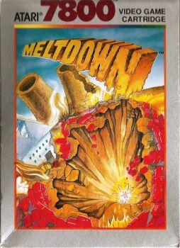 Meltdown - Atari 7800 - 1990
