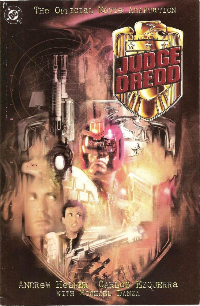 - Judge Dredd - Movie Adaptation - Comic Graphic Novel - TPB - 1995