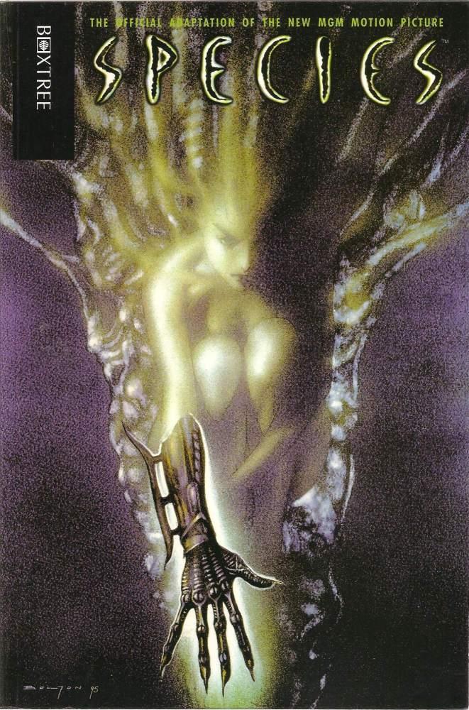 - Species - Movie Adaptation - Comic Graphic Novel - TPB - 1995