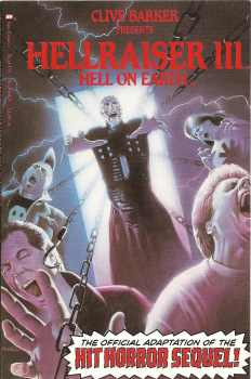 Hellraiser III : Hell On Earth - Movie Adaptation - Comic Graphic Novel - TPB - 1992