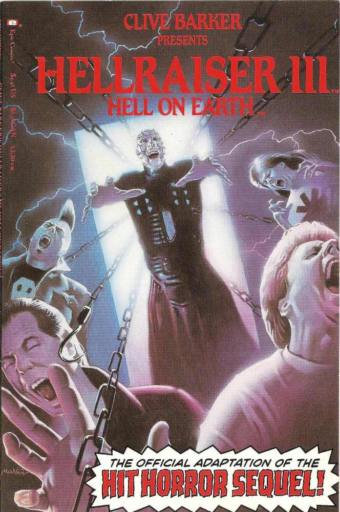 - Hellraiser III : Hell On Earth - Movie Adaptation - Comic Graphic Novel -