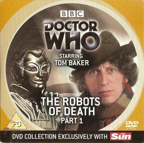 Doctor Who : The Robots Of Death - Part 1 - Tom Baker - DVD