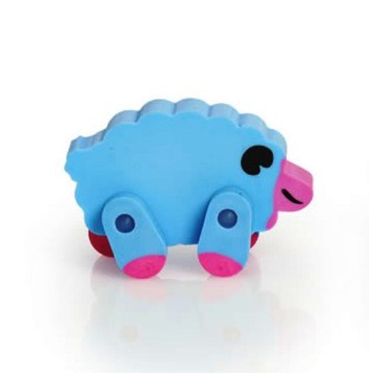 Sheep Eraser With Movable Legs - NEW