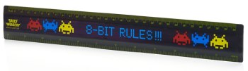 Space Invaders Ruler - 8-Bit Rules!!! - NEW