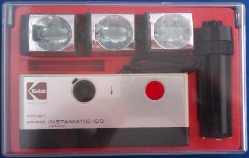 - Kodak Pocket Instamatic 100 Camera Outfit - 1972