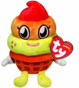 Moshi Monsters - Coolio Beanie Plush Soft Toy - Ty Beanie Babies - 2013 - NEW
