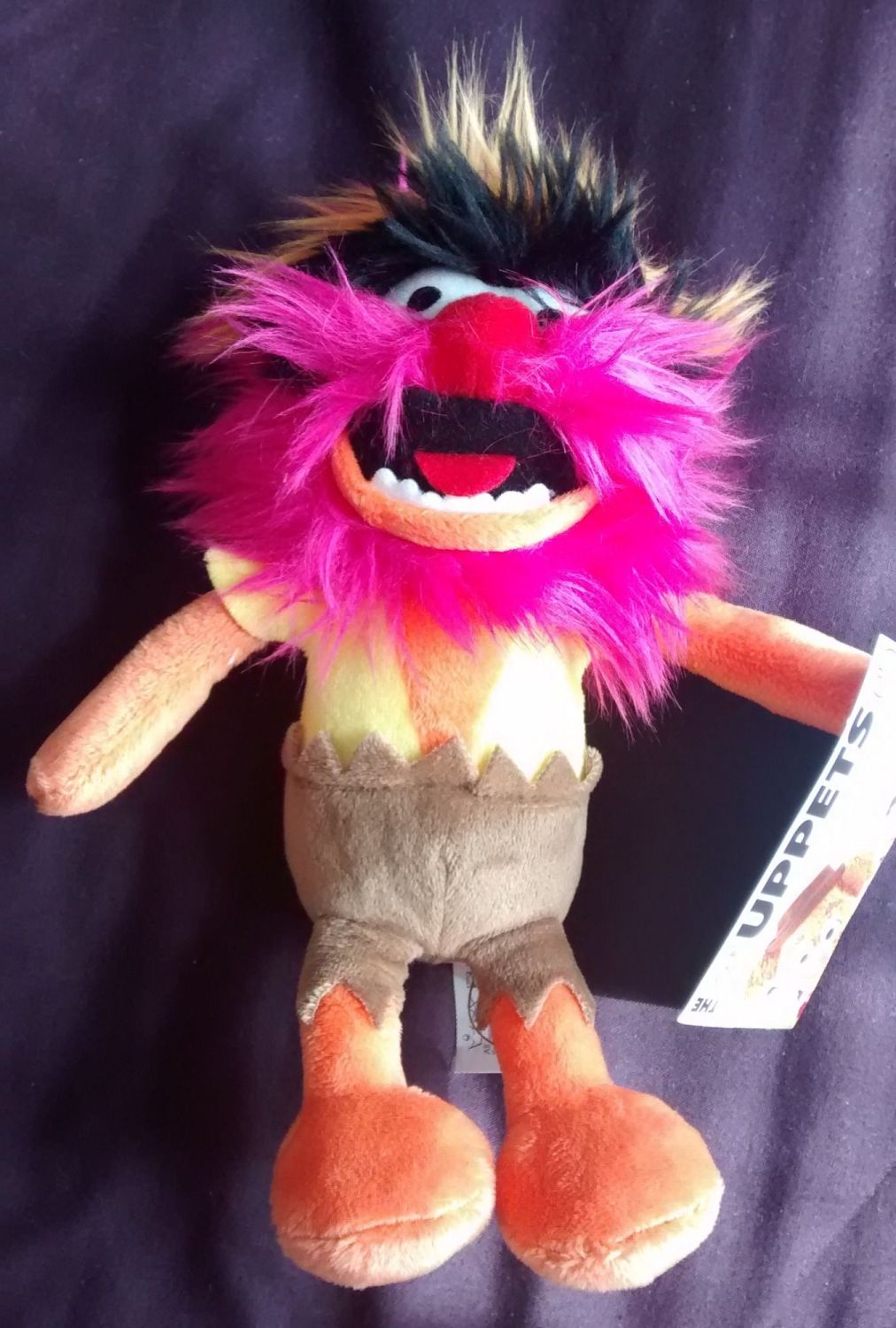 - The Muppets - Flopsies - Animal Plush Soft Toy - NEW