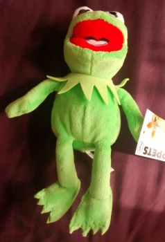 The Muppets - Flopsies - Kermit Plush Soft Toy - NEW