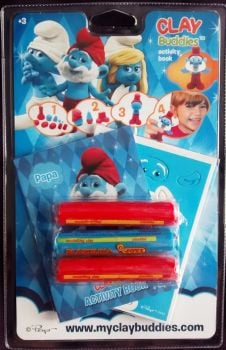 Clay Buddies - The Smurfs : Papa Smurf - 2013 - NEW