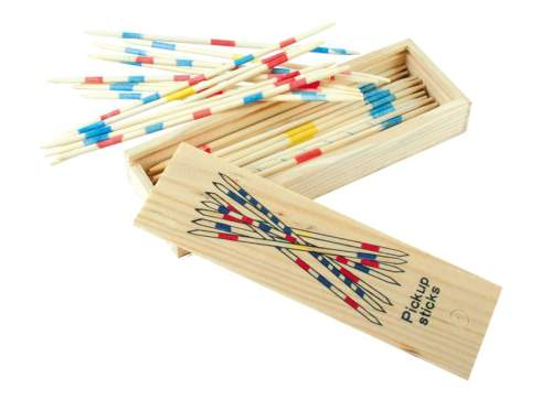 Pick Up Sticks Game - Wooden - NEW