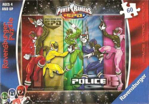 Power Rangers SPD Jigsaw Puzzle - 60 Pieces - Ravensburger - 2005