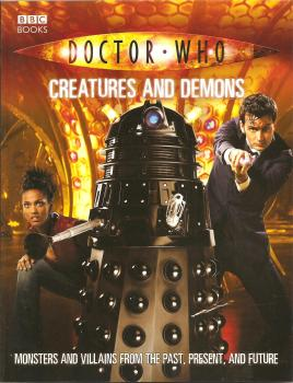 Doctor Who - Creatures And Demons Book - 2007