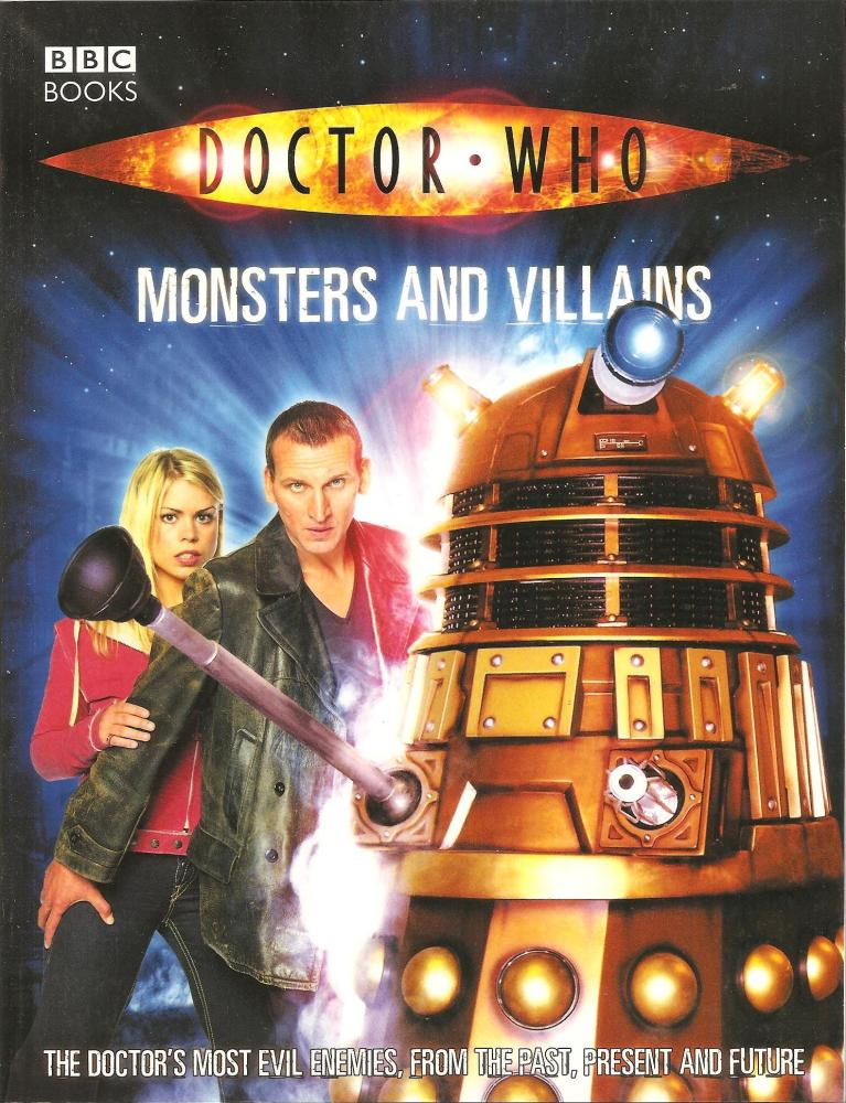 Doctor Who - Monsters And Villains Book - 2005