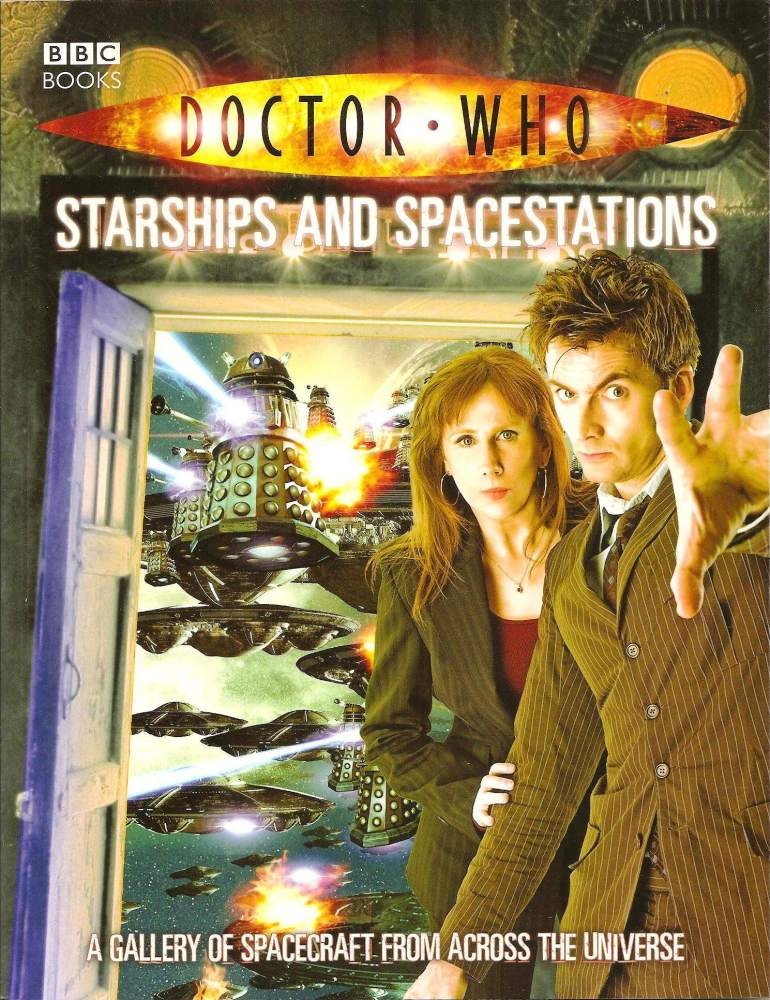 Doctor Who - Starships and Spacestations Book - 2008