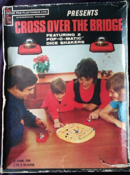 Cross Over The Bridge - Pop-O-Matic - Peter Pan Playthings - 1970