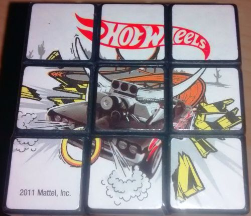 Hot Wheels Puzzle Cube - NEW