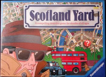 Scotland Yard Game - Ravensburger - 1983 - NEW