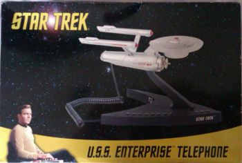 Star Trek - USS Enterprise NCC-1701 Corded Telephone - 2007