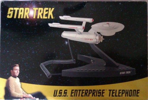Star Trek - USS Enterprise NCC-1701 Corded Telephone - 2007