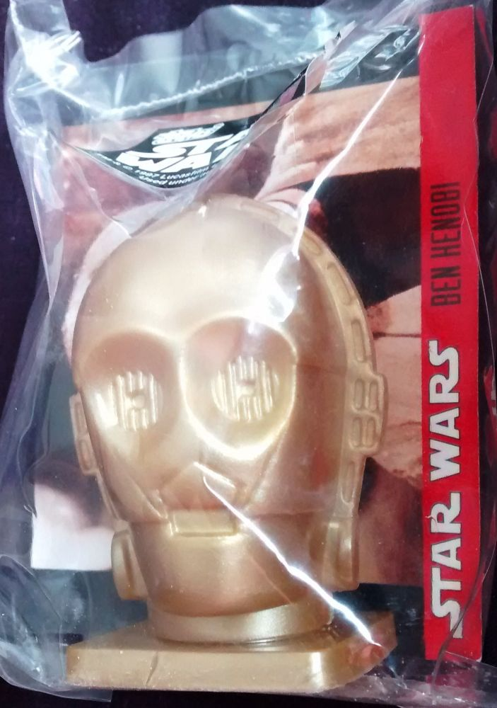 - Star Wars - Candy Container With Collector Card - C-3PO - Topps - 1997 -