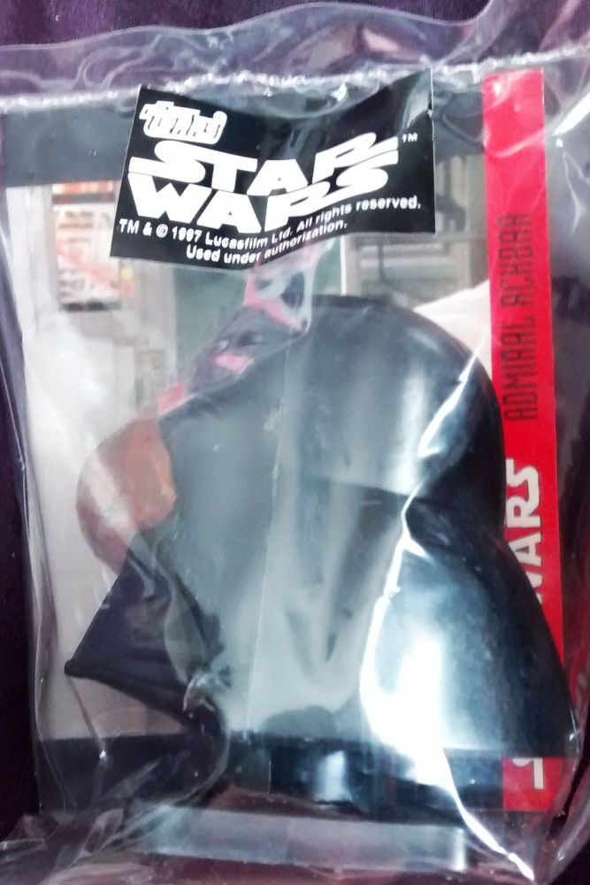 - Star Wars - Candy Container With Collector Card - Darth Vader - Topps - 1