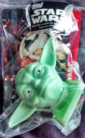 Star Wars - Candy Container With Collector Card - Yoda - Topps - 1997 - NEW