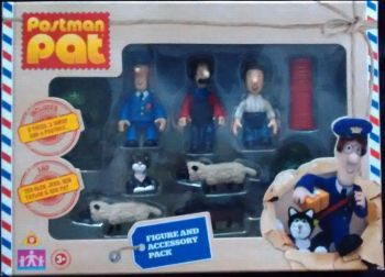 Postman Pat Figure And Accessory Pack - NEW