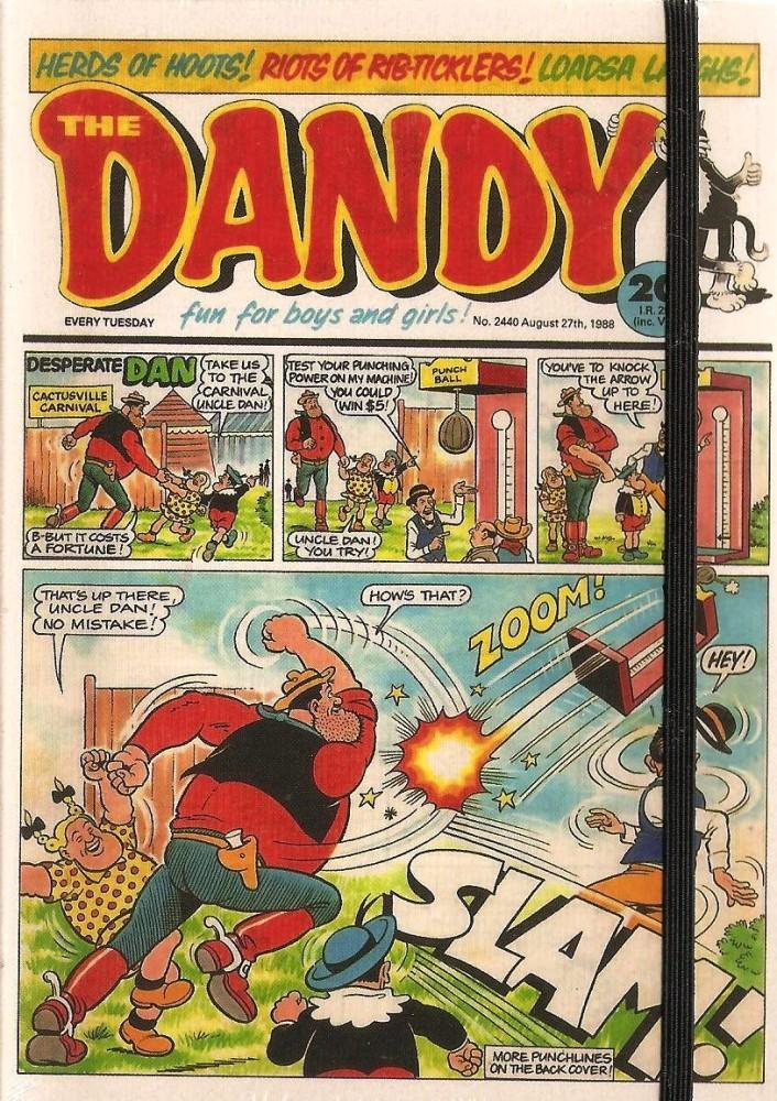 - Dandy Comic A6 Hardback Cover Art Journal - NEW