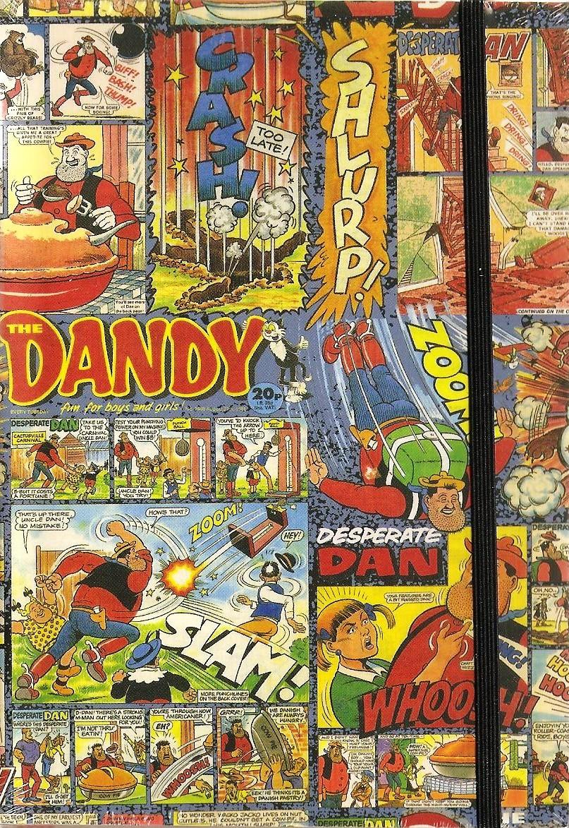 - Dandy Comic A6 Hardback Pop Art Journal - NEW