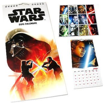 Star Wars - Calendar 2015 - Danilo - NEW
