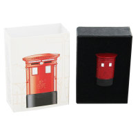 Royal Mail Pillar Box Pin Badge - GVIR Type C Double Aperture - 2010 - NEW