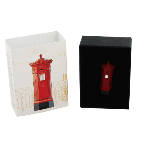 Royal Mail Pillar Box Pin Badge - VR Penfold - 2010 - NEW