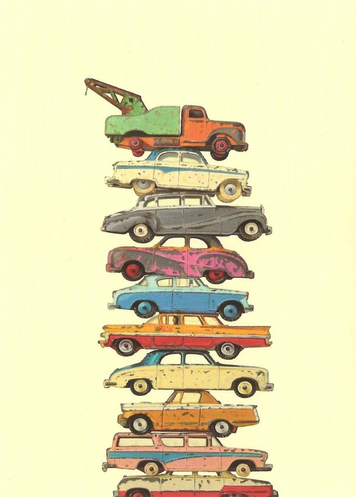 Retro / Vintage Toy Cars -