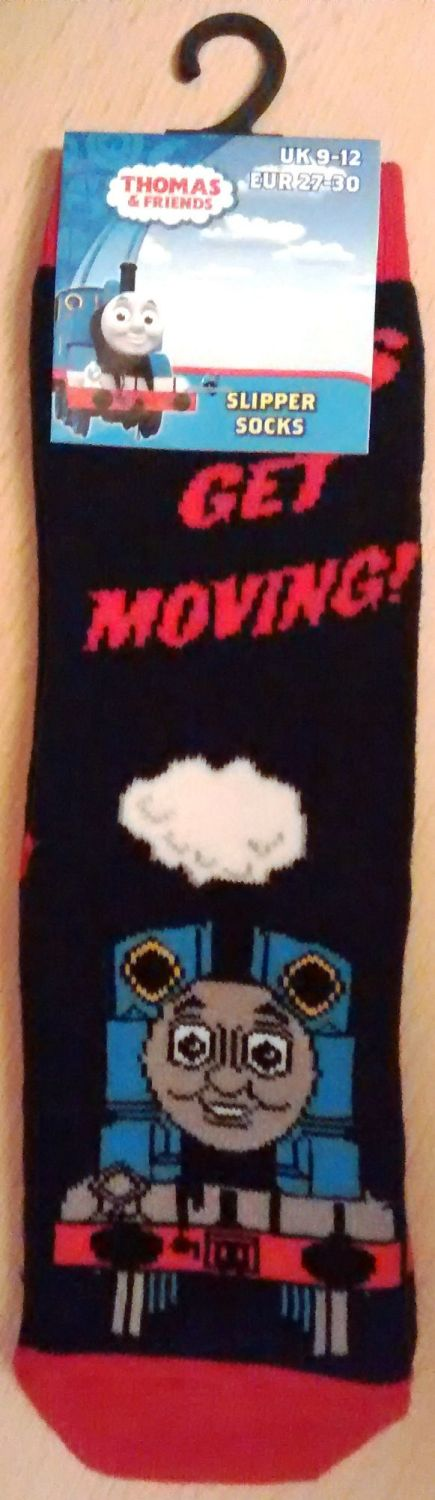 Thomas And Friends Childrens Slipper Socks - NEW