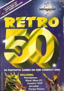 Retro Gamer Magazine Cover Disc - Retro 50 - 2004