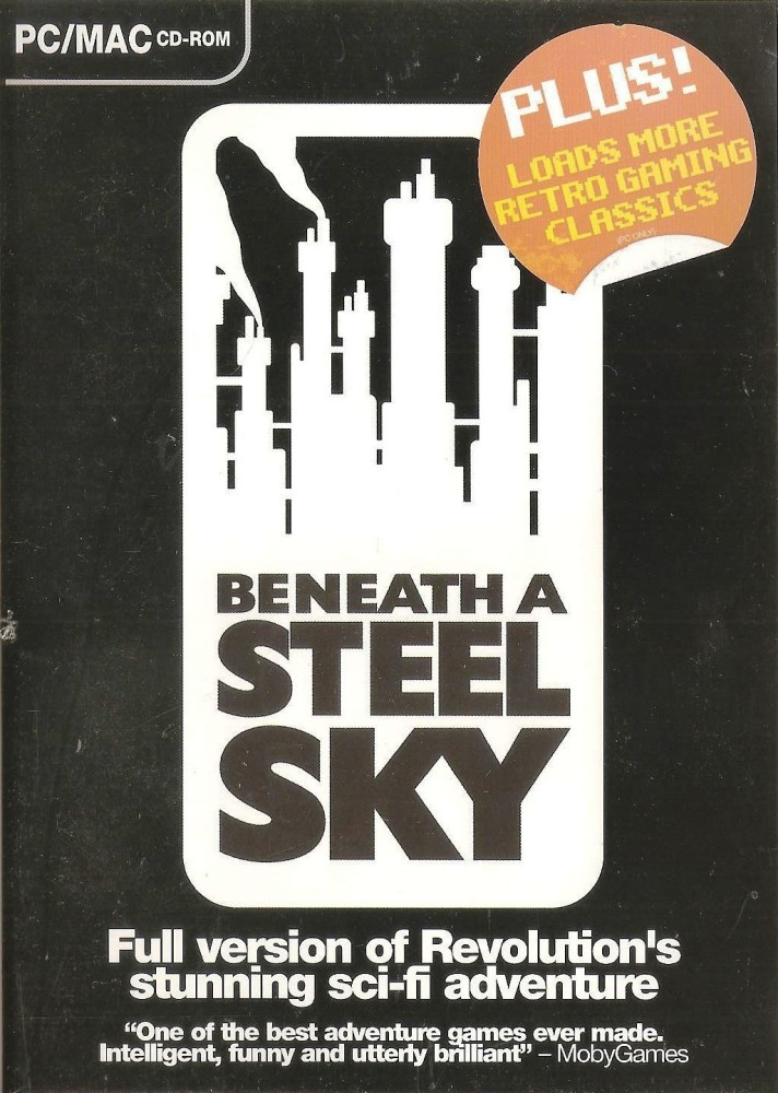 Retro Gamer Magazine Cover Disc - Beneath A Steel Sky - 2004