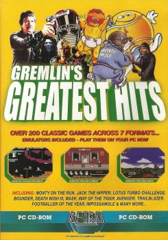 Retro Gamer Magazine Cover Disc - Gremlin's Greatest Hits - 2004