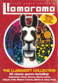 Retro Gamer Magazine Cover Disc - The Llamasoft Collection - 2004