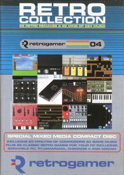 Retro Gamer Magazine Cover Disc - Retro Collection - 2004