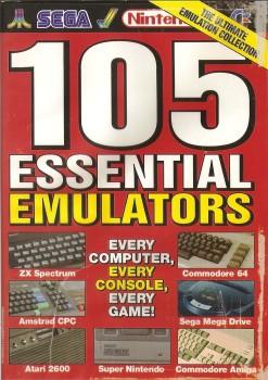 Retro Gamer Magazine Cover Disc - 105 Essential Emulators - 2005