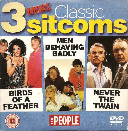 3 More Classic Sitcoms - Birds Of A Feather / Men Behaving Badly / Never Th