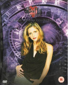 Buffy The Vampire Slayer - Season Six - Hardback Book-Style DVD Box Set - RARE