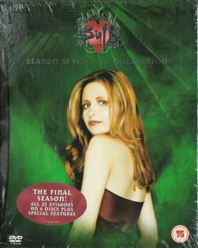 Buffy The Vampire Slayer - Season Seven - Hardback Book-Style DVD Box Set - RARE