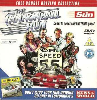 The Cannonball Run - DVD